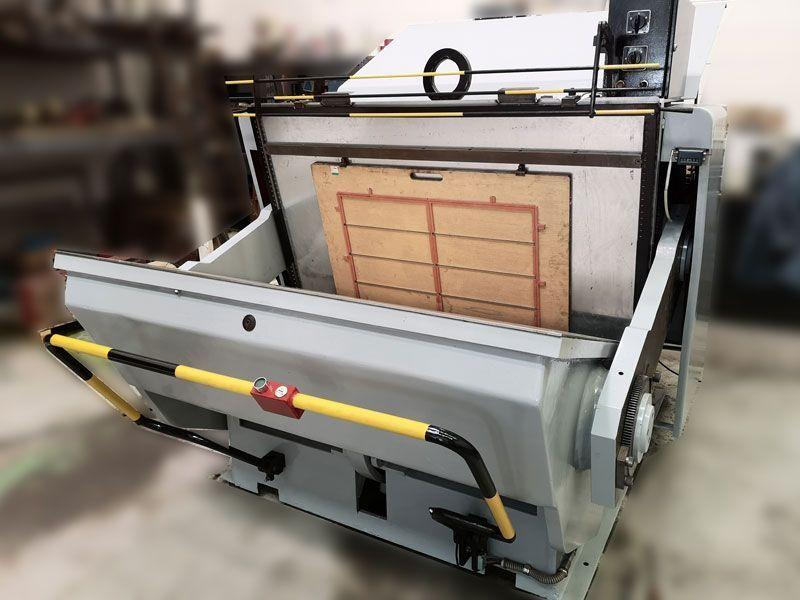 Troqueladora de tímpano 100×140 cm de Ocasión